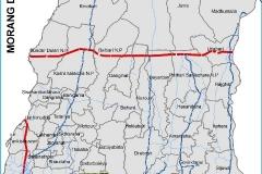 Morrang District map